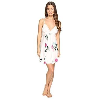 Kate Spade New York Women's Chemise Rose Pajama Top