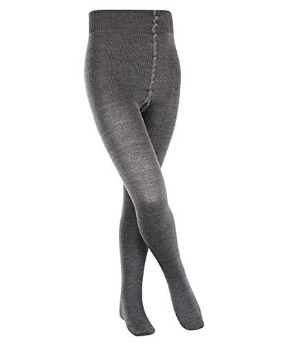 FALKE FALKE Kinder Strumpfhosen Comfort Wool - Merinowoll-/Baumwollmischung, 1 Stück, Grau (Anthracite Melange 3080), Größe: 122-128