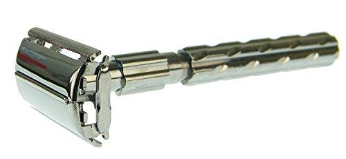 Parker 22R - Rasoio di sicurezza a doppio filo, con...