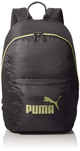 PUMA Damen WMN Core Seasonal Backpack Rucksack, Black-Gold, OSFA