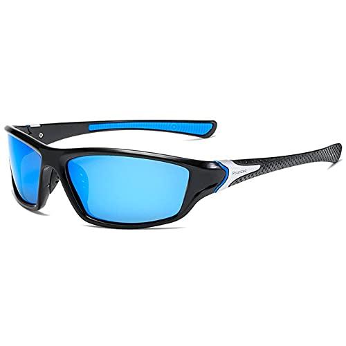 Gafas de sol polarizadas D120 para equitación al aire libre, ligeras, antideslumbrantes, resistentes al agua