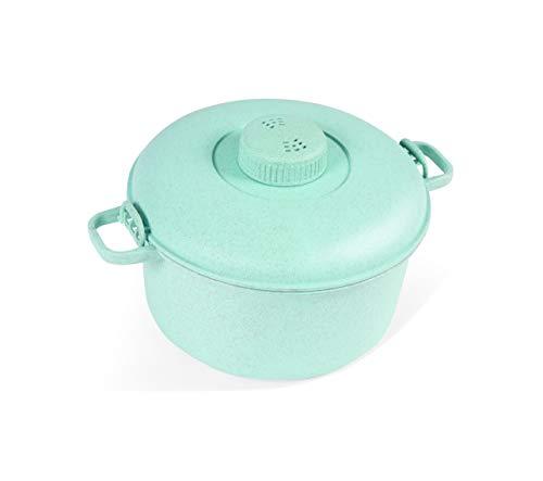 Handy Gourmet JB8228TEL (Teal) Eco Friendly Pressure Cooker-Easy Cooking-Easy &