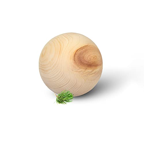 Zirben Kugel - luftgetrocknetes Zirbenholz - für Karaffe Misura oder Nimbus