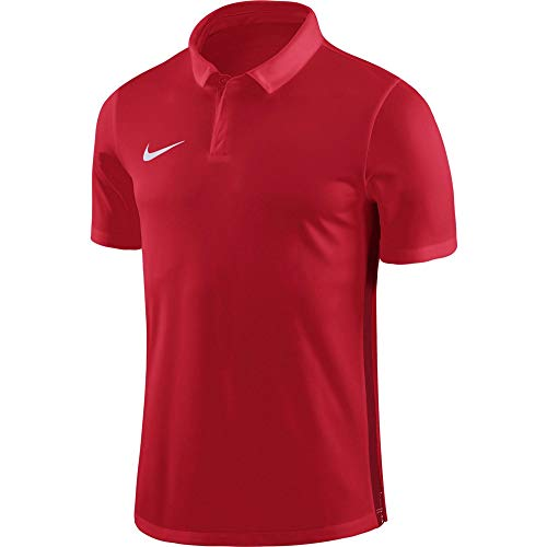 NIKE M Nk Dry Acdmy18 Polo SS T-Shirt, Hombre, University Red/Gym Red/(White), L