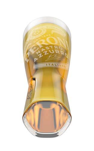 Set de 2 Peroni 1/2 vasos de cerveza