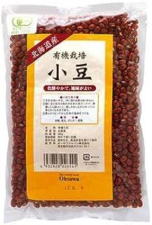 オーサワ有機栽培小豆(北海道産) 300g×2個           JAN:4932828026541