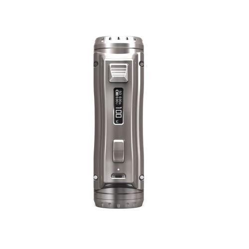 Authentische Ehpro Cold Steel 100 120W TC Box MOD Ultraschnelle Brenngeschwindigkeit Online Update Ecig Vape Mod E-Zigarette (Grey)
