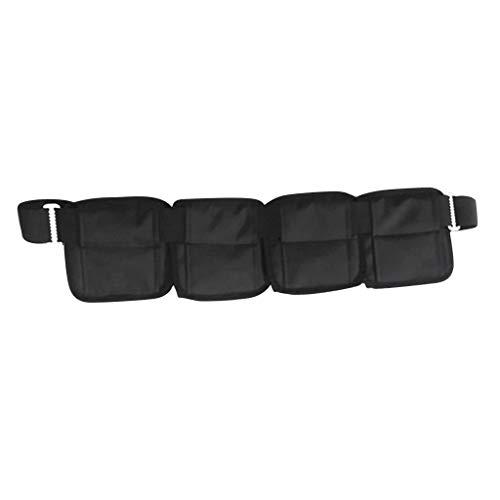 Tubayia Scuba Diving - Cinturón de plomo con bolsillos para buceo (3 bolsillos)