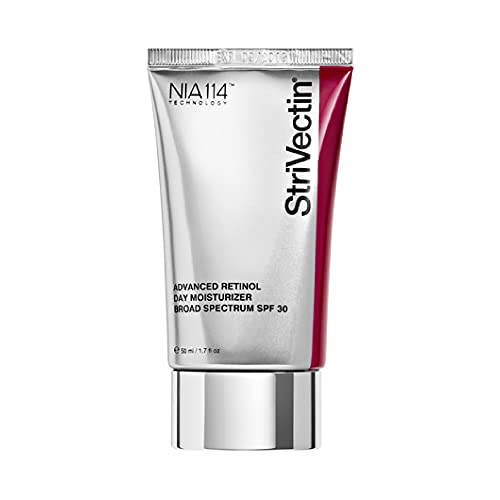 StriVectin Advanced Retinol Day Moisturizer SPF 30, Face Cream, Protects Skin Against Sun and Age Damage, 1.7 Fl Oz