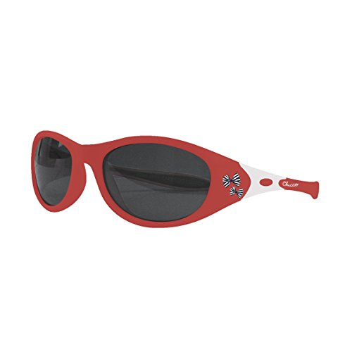 Chicco Comedy - Gafas de sol 24 m+, color rojo