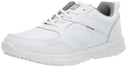 Spring Step - Zueco para hombre, Blanco (Blanco), 44/45 EU