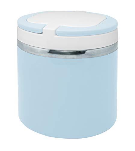 NERTHUS Termo para solidos Azul Pastel niñas de 700 ml de Capacidad, Acero Inoxidable 18/8