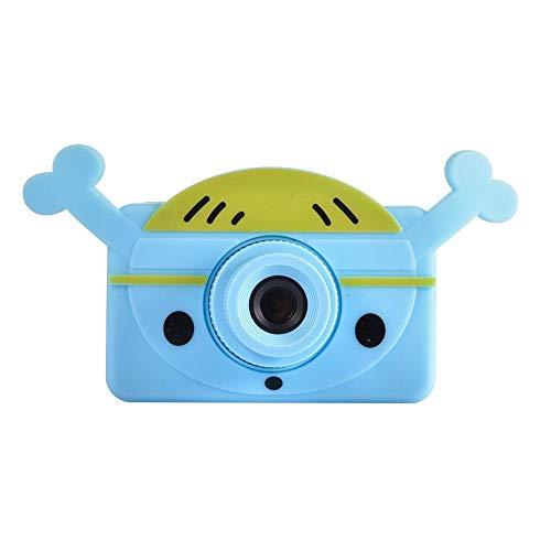 Kinder-Digitalkamera 1080P HD Digitalkamera Minikamera-Spielzeug-Kind Multifunktionale Wasserdicht Und Staubdichte Großer Kapazitäts-Spielzeug-Kamera-Videogerät IEAST (Color : Blue 32G card)