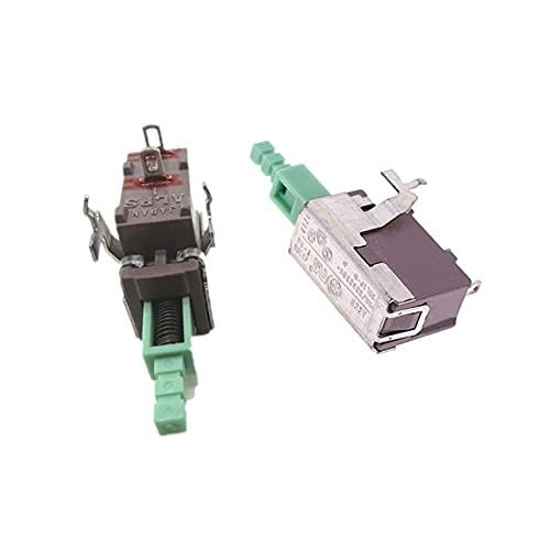 Jgzwlkj Interruptores de botón 4A 250VAC Interruptor de importación Botón Alpes SDL1P-A TV-3 Bloqueo de Interruptor de Corriente de Corriente Grande (Color : 5PCS)