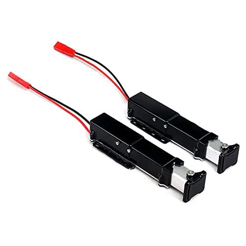 Farleshop Patas de elevación eléctricas de Metal de 1set Patas de Soporte eléctrico para 1/14 RC Pieza de modificación de Remolque hidráulico RC