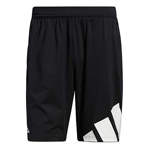 adidas Herren 4k 3 Bar Shorts, Schwarz, L EU