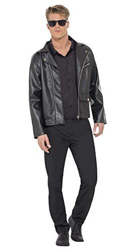 Smiffys, Herren Dirty Dancing Johnny Kostüm, Bedruckte Jacke und Oberteil, Größe: M, 26391