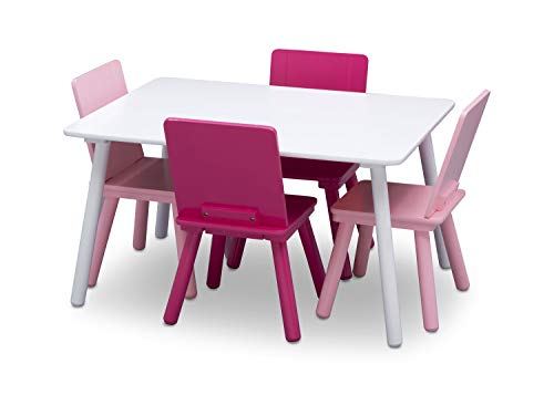 Juego de mesa y sillas - Delta Kids