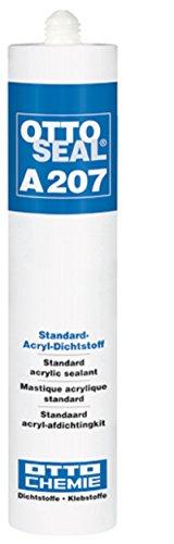 Otto OTTOSEAL A207 300ml Kartusche C01 WEISS Acryl Dichtstoff überstreichbar