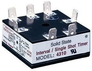 ARTISAN CONTROLS 4310A-8-B-2 SOLID STATE TIMER SPST-NO 300SEC, 120VAC