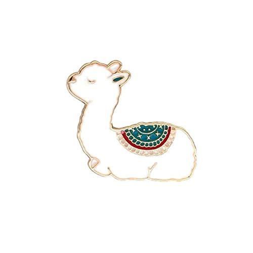 Gespout Broche Joya Broche de Alpaca Broche de Insectos Animales Adecuado para Todas Las Mujeres es el Abrigo Accesorios La Mejor Opción de Regalo