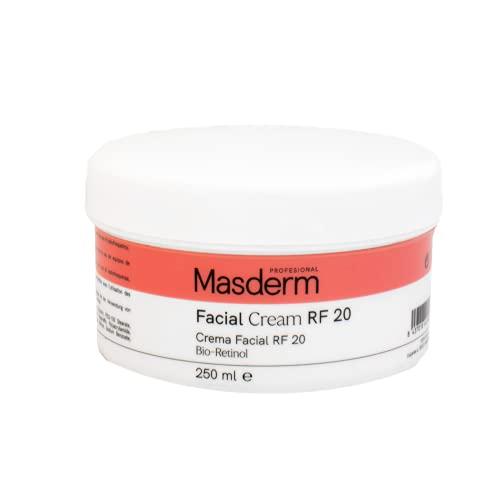 MASDERM   Gel Crema Facial Radiofrecuencia Hidratante Antiarrugas 250 ml   �cido Hialurónico   Colágeno   Bio-Retinol   Cavitación   Ultrasonidos   Luz LED   Profesional