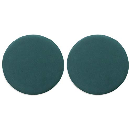 ZZCC 2 Pieces Of Chair Cushion,breathable Office Chair Cushion,beautiful Buttocks Cushion,round Memory Foam Thickened Student Cushion For Kitchen,outdoor,garden,office,etc. 40 * 40 * 4.5CM