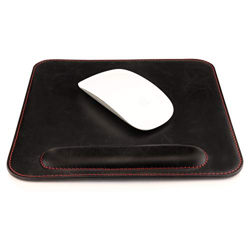 Londo Leather Mousepad with Wrist Rest