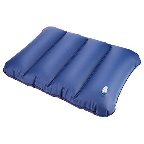 SALUTUYA Almohada Inflable para Acampar al Aire Libre, Resistente al Desgaste, Resistente, Ligera, portátil, Plegable, Inflable, para una Almohada y un cojín