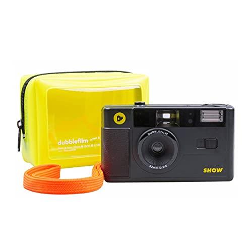 Dubblefilm Show Fotocamera analogica 35 mm con flash point