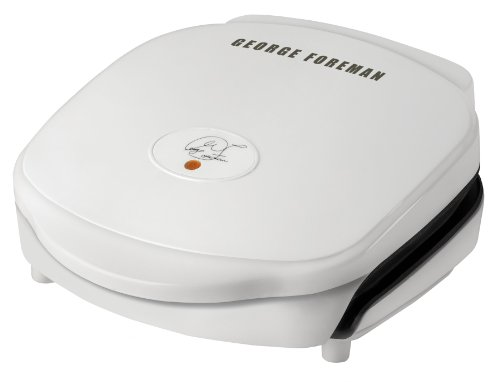 George Foreman Foreman GR18 Special Edition Super Champ, White