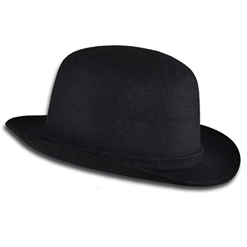 SOBO-NE Sombrero Tipo Bombin de Vestir Unisex Hombre Mujer Elegante Formal