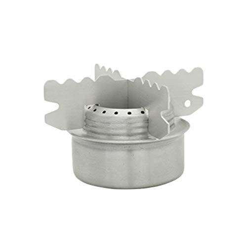 Garneck - Hornillo de titanio con soporte transversal, para