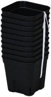 【丈夫で長持ち硬質ポット】 プレステラ 90型 10ヶ組 ブラック
