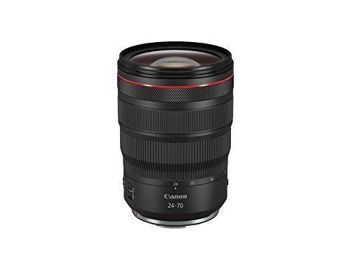 Canon Zoomobjektiv RF 24-70mm F2.8L IS USM für EOS R (82mm Filtergewinde, Bildstabilisator, Autofokus), schwarz