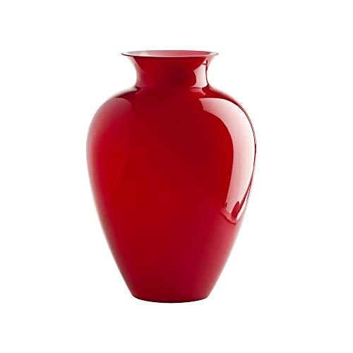 VENINI Vase Labuan 706.62 Rot