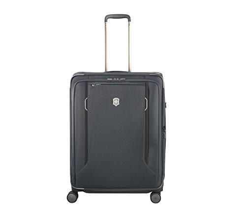 Victorinox Werks Traveler 6.0 Softside Large - Reisekoffer groß Trolley 4 Rollen - Grau
