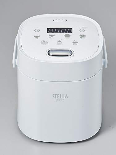 コンパクト多機能炊飯器2合炊きホワイトVS-KE02W