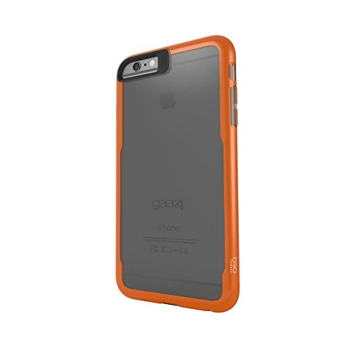 Gear4 D3O Jumpsuit beschermhoes, iPhone 6 Plus/6s Plus, grijs