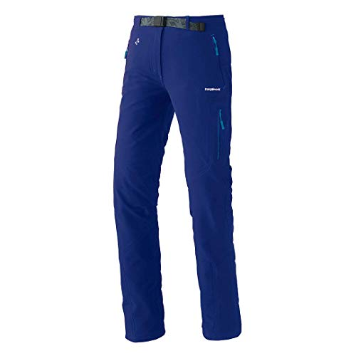 Trangoworld PC007777 Pantalon Taille L, Bleu Encre, L Femme