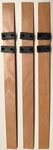 SCM Créations Latten 610/53/8 mm (61 cm), mit 6 Endstücken für Schlafcouch, BZ Lattenrost