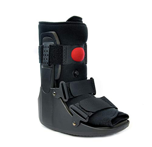Air CAM Walker Fracture Orthopedic Boot Short - Complete Medical Recovery, Protection, Healing and Boot - Toe Foot or Ankle Injuries, Fractures, Sprains by Brace Direct