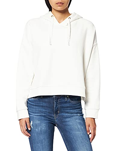 Teddy Smith S- Faby Sweatshirt à Capuche, Middle White, XS Femme