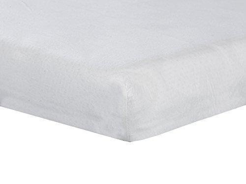 ABZ MB208-90200 hoeslaken Yersey 90 x 200 cm, wit