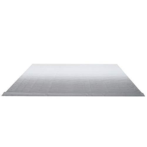ALEKO Retractable RV Awning Fabric Replacement - 13x8 ft Shade Cover for Camper Trailer or Patio - Gray Fade