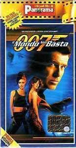 Vhs 007 Il Mondo Non Basta James Bond Pierce Brosnan Sophie Marceau