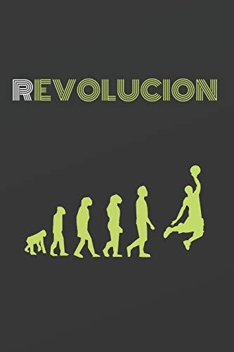 REVOLUCIÓN: CUADERNO DE NOTAS. CUADERNO DE APUNTES, DIARIO O AGENDA. REGALO ORIGINAL Y CREATIVO PARA AMANTES DEL BÁSQUET.