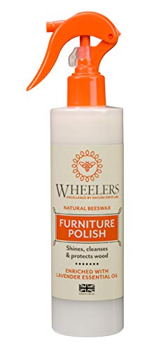 Wheelers Beeswax Furniture Polish Spray, 300ml   Cleanses, Nourishes &...