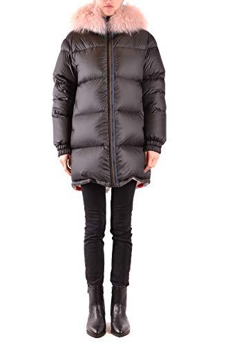 MR&MRS ITALY Luxury Fashion Damen MCBI37576 Schwarz Steppjacke | Jahreszeit Outlet