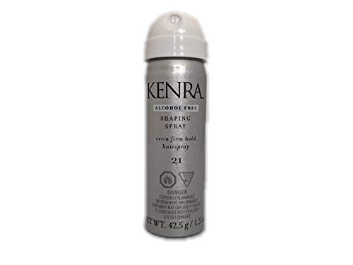 Kenra Shaping Spray Extra Firm Hold Hairspray No.21, 1.5 Ounce